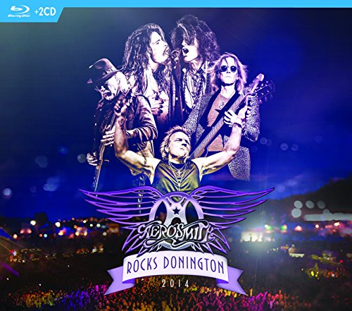 AEROSMITH - ROCKS DONINGTON 2014 (1 BOX)