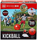 Wicked Big Sports Kickball-Supersized Kickball Outdoor Sport Tailgate Backyard Beach Game Fun for All Limited Edition