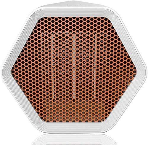 ZHICHUAN 1000W / 600W Raum Keramische Heizung, Tragbare Verstellbare Temperatur Ventilator, Einstellbare Temperatur, Überhitzungsschutz, Für Haushalt Und Büro-Gebrauch (Weiß) Heimge