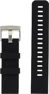 Suunto Unisex's Traverse siliconen band accessoires, zwart, One Size