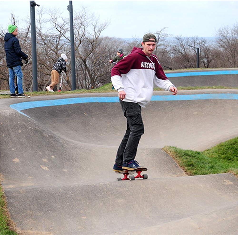 Outil en T Professionnel De Planche /À roulettes De Surf Carver WRISCG Carver Surfskate 82/×25cm /érable Complet Skateboard pour Fille Gar/çon et Adulte d/ébutants avec Sac /à Dos de Skateboard