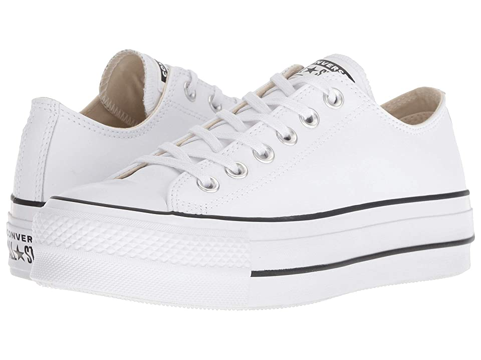 Converse Chuck Taylor All Star Lift Clean Ox (White/Black/White) Women