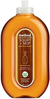 method Squirt + Mop Wood Floor Cleaner, Almond, 25 oz (2pack)