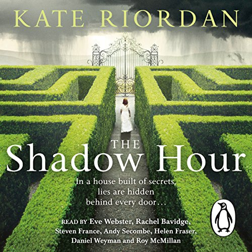 The Shadow Hour audiobook cover art