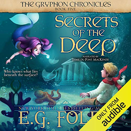 Secrets of the Deep audiobook cover art