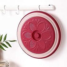 Katyma - Cubierta plegable para microondas (protección contra salpicaduras, cesta de frutas, verduras)