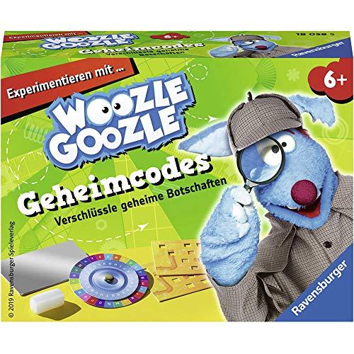 Ravensburger 18058 Woozle Goozle - Woozle Goozle - Detektiv: Geheimcodes, Spuren suchen,Beweise sichern, Tatortanaylse,