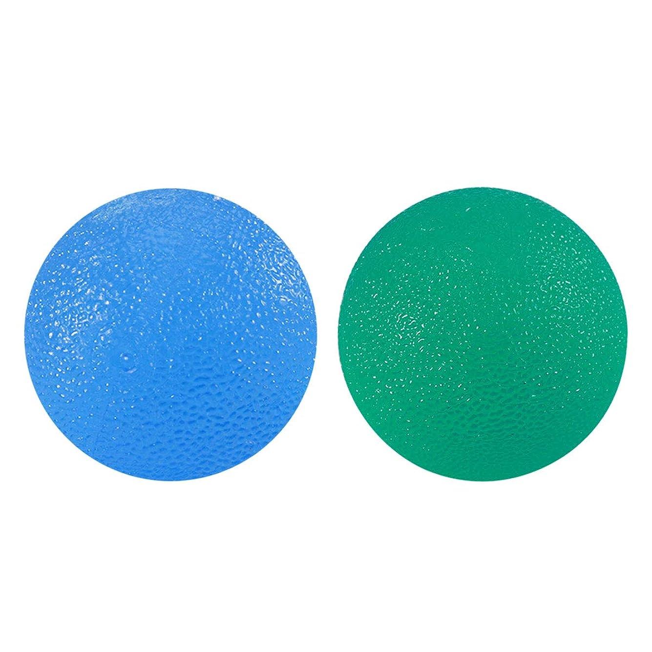 コーンウォールフック区別するROSENICE フィンガーセラピーボールエクササイズボールハンドリハビリトレインボール2個