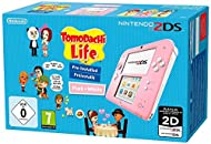 Nintendo 2DS - Console Pink + Tomodachi Life (Nintendo 3DS)