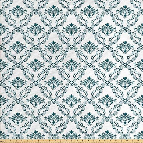Juego de adhesivos decorativos para azulejos, diseño victoriano, hojas abstractas antiguas líneas curvas, estilo francés de estilo rural, 12 unidades