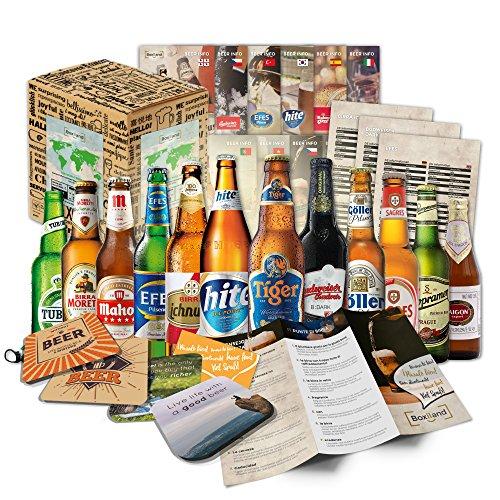 Cadeau de Noël pour hommes Bières du Monde (12x0, 33l) Noël