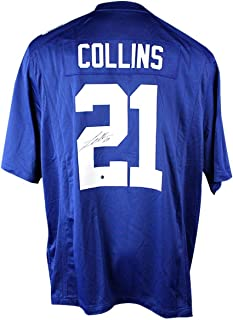 Landon Collins New York Giants Signed Blue Replica Nike Jersey - Steiner Sports Certified - Autographed NFL Jerseys
