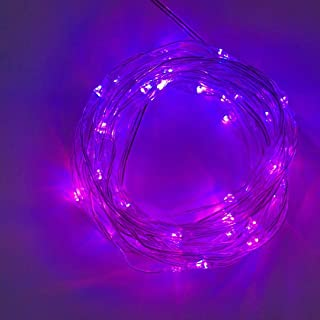 LED Rope Lights 16Colors 16.4Ft Vibrant Bright 50LEDs Strip Kit with Remote Control RGB Colors Changing 3XAA Battery Opera...