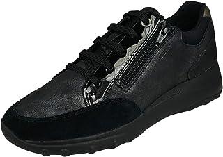 Geox Womens Adult ALLENIEE 1 Black Sneakers