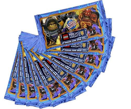 Nexo Knights Sammelkarten Lego Trading Cards - 10 Booster - 50 Karten