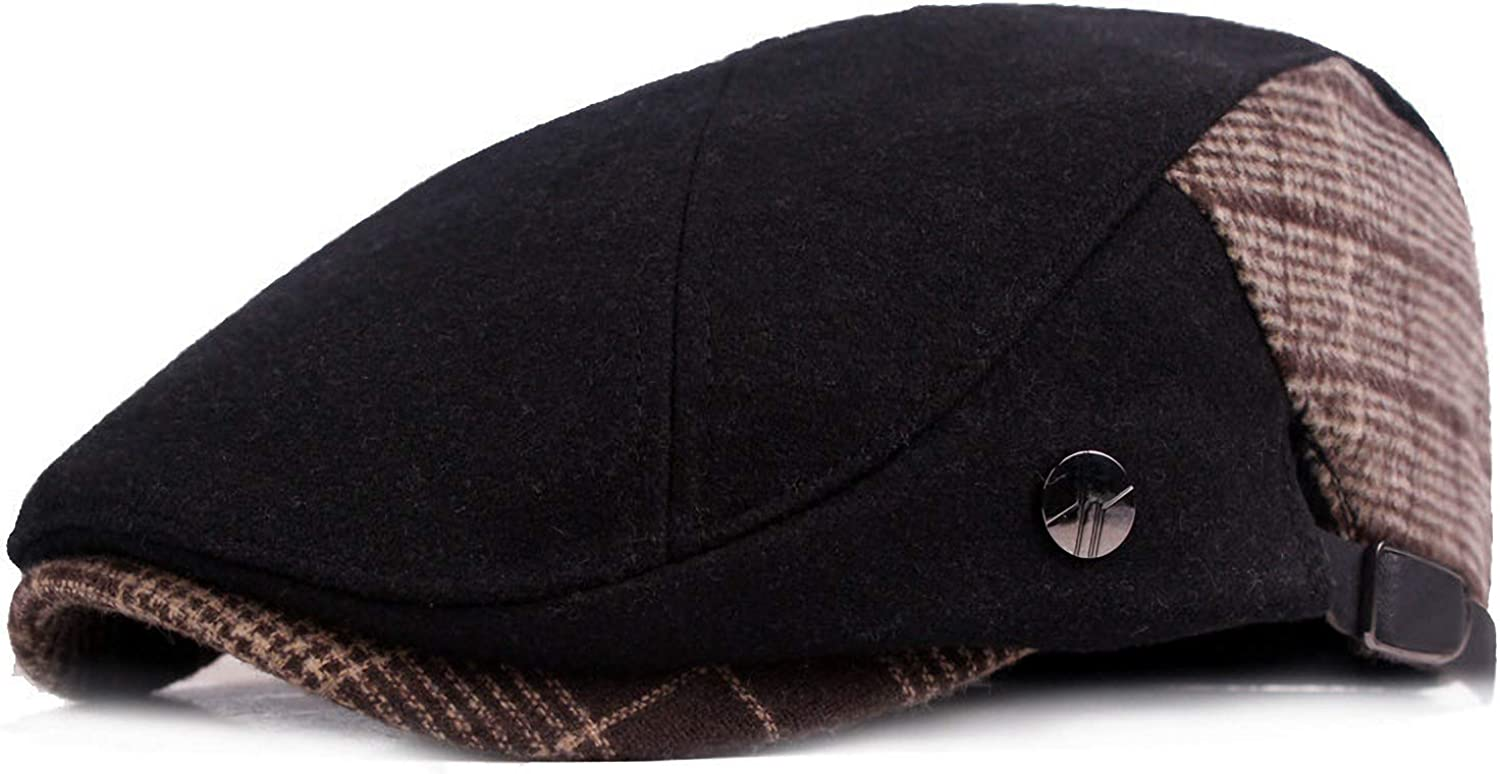 Soultopxin OFFicial mail order Newsboy Cap for Men C Flat Ivy trend rank Cotton Gatsby