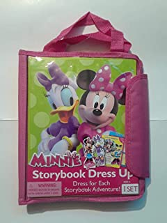 Disney Junior Minnie Mouse 39 Pc. Storybook Dress Up Kit with Tote
