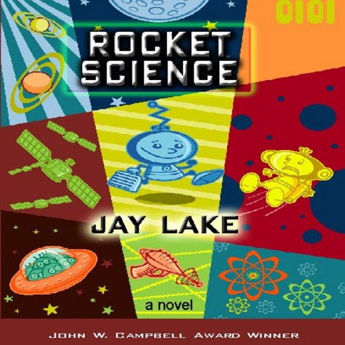 Rocket Science audiobook cover art