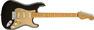 Fender American Ultra Stratocaster Electric Guitar (Texas Tea, Maple Fingerboard)
