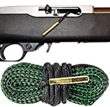 .22 Caliber Bore Snake Cleaner Rimfire Long Rifle and 22 Magnum Rifles and Pistols - Easy 1 Pull Cleaning System