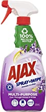 Ajax Spray n' Wipe MultiPurpose Antibacterial Disinfectant Household Cleaner Trigger Surface Spray Lavender & Citrus Made ...
