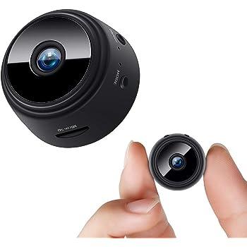 Sekuai Mini Spy Camera Wireless WiFi Hidden Camera HD 1080P Security Cameras with Motion Detection Night Vision Nanny Cam