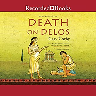 Death on Delos audiobook cover art