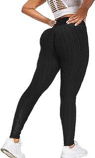 Women's High Waist Yoga Pants Tummy Control Leggings Workout Running Butt Lift Tights