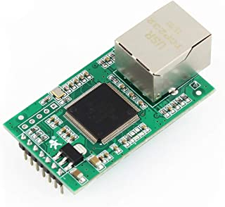 Dual TTL UART to Ethernet Module Pin Type Serial Port to LAN Ethernet Converter with Httpd Client and Modbus TCP USR-TCP23...