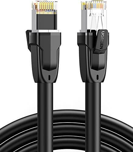 discount UGREEN new arrival Cat 8 Ethernet Cable Cat8 RJ45 Network LAN Cord High Speed Compatible for wholesale Gaming PS5 PS4 Xbox One PS3 Modem Router PC Mac Laptop 3FT sale