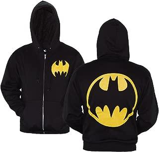 DC Comics Batman Symbol Zip-Up Hoodie