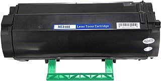 Cartuchos de tóner, cartuchos de tinta de protección ambiental, accesorios de impresora, compatibles con cartuchos de tóner compatibles con LM-MS510 Lexmark MS510dn Lexmark MS610DN MS610DTN MS610DE