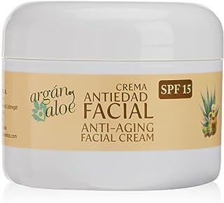 Argan-Aloe 70080 - Crema facial antiedad con aloe y argán,