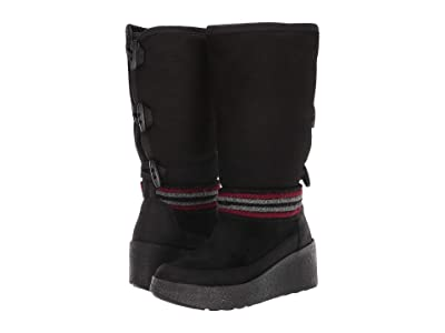 Cougar Duncan Waterproof (Black Leather/Shearling) Women