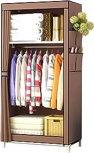 H&N HN Wardrobe, Cloth Wardrobe Assembly Cloth Wardrobe Simple Wardrobe Single Wardrobe Storage Locker (Size : 70x45x160cm)