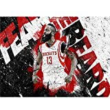 puzzles De Madera James Harden Basketball Star 1000 Piezas Madera para Adultos Juguete Educativo(Color:C)