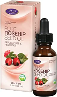 Life Flo Health - Pure Rosehip Seed Oil - Certified Organic & Cold Pressed - Authentic Rose Hip Oil for Face & Skin Restor...