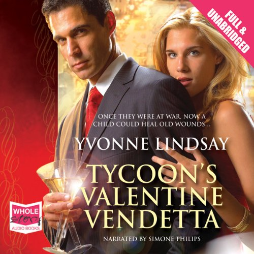 Tycoon's Valentine Vendetta audiobook cover art