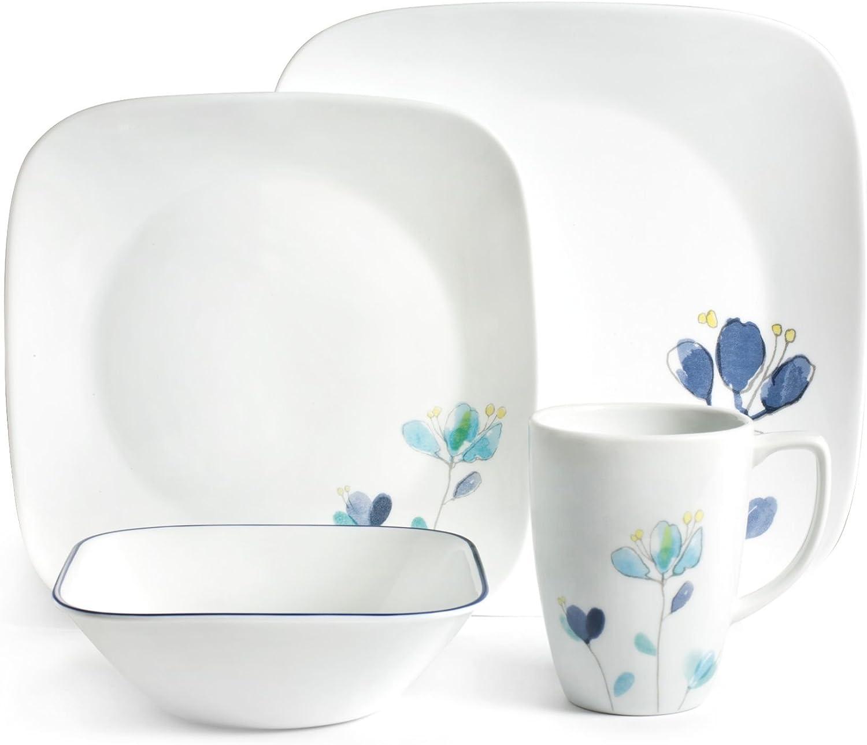 CORELLE Dinnerware Set Dalena, White
