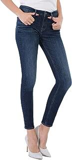 D-ID Women's Skinny Jeans Skinny Ankle Mid Rise Jean Original Fit Jeans 220