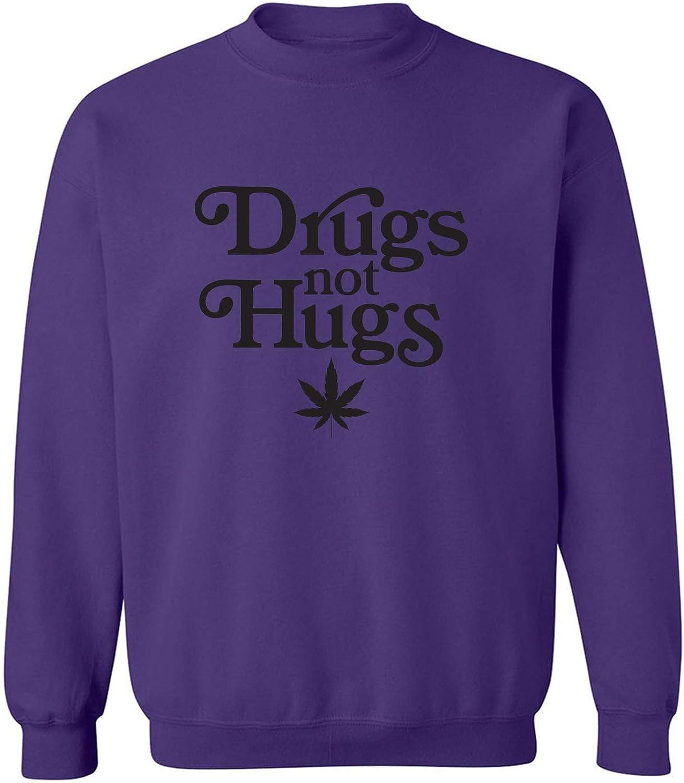Drugs Not Hugs Crewneck Sweatshirt