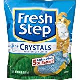 Fresh Step Crystals, Premium, Clumping Cat Litter, Scented, 4 Pounds