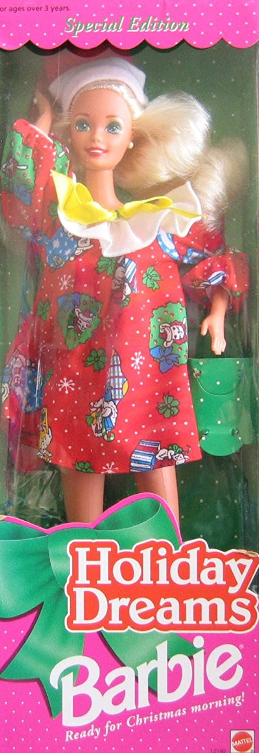 1994 Holiday Dreams Christmas Blonde Barbie Doll