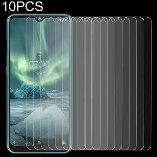 10 PCS For Nokia 7.2 2.5D Non-Full Screen Tempered Glass Film New Hengk