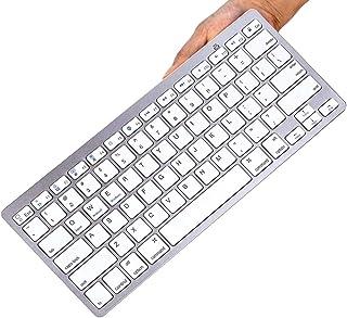 TEGAL Bluetooth Keyboard, Ultra-Slim Wireless Keyboard Compatible with 2018 iPad Pro 11/12.9, New iPad 9.7 Inch, iPad Air,...
