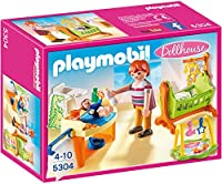 Playmobil Dollhouse Baby Room with Cradle [並行輸入品]