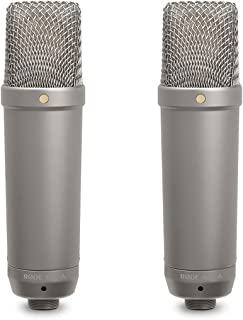 RØDE Microphones NT-1A RØDE NT1ARode NT1-A Cardioid Condenser Microphone, Nickel