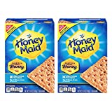 Original Honey Maid graham crackers Two (14.4 ounce) boxes Made with real honey No high fructose corn syrup 8g of whole grain per serving