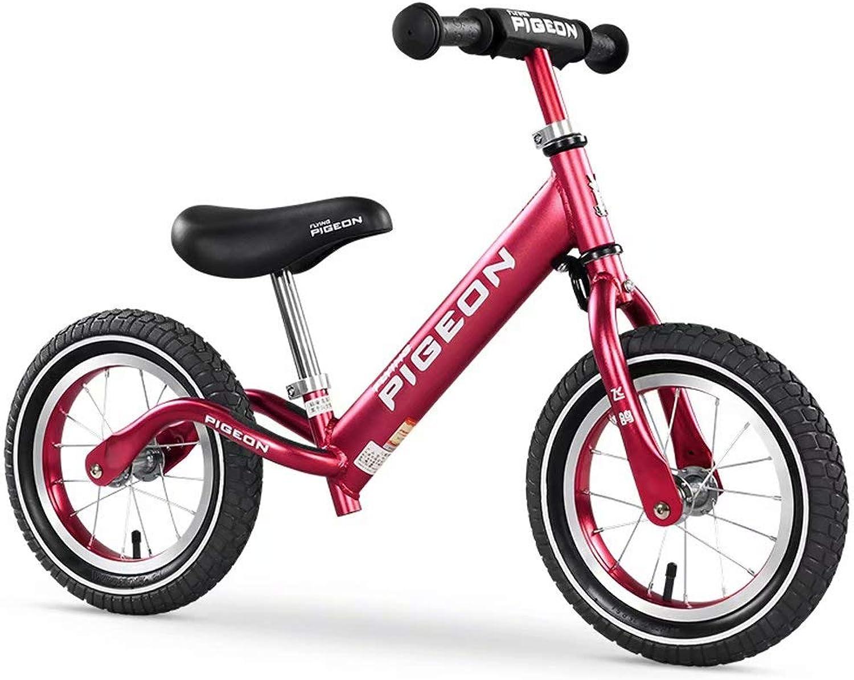 calidad fantástica Bicicleta equilibrada XT sin Pedal Pedal Pedal de Bicicleta de Entrenamiento Marco de Aluminio para Niños de 1-6 años Que aprende Asiento de Bicicleta Ajustable  tienda de ventas outlet