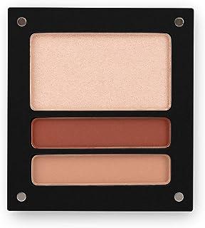 Jolly Dim Makeup Eyes & Glow Opalescent Set - 1 highlighter & 2 oogschaduw, mat. Make-uppalet voor gezicht en ogen